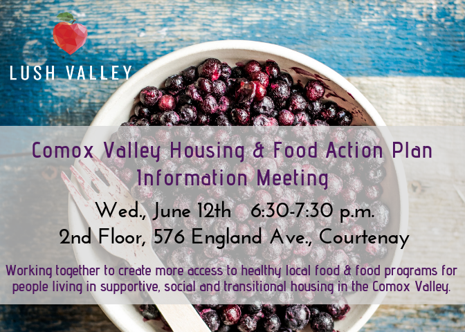 Connecting Local Food to Housing Providers Info Night