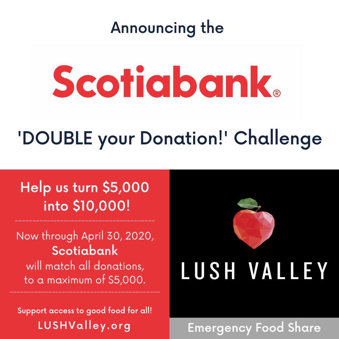 Scotiabank Matching Campaign