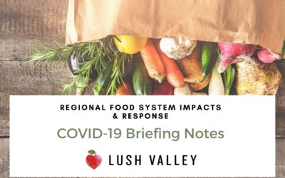 COVID-10 Food Security Briefing Notes